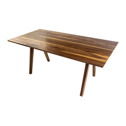Moderncre8ve - Sputnik Midcentury Modern Solid Walnut Dining Table- City Edition - Time to buy a real dining table?