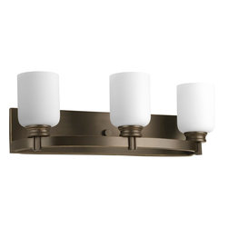 Progress Lighting - Progress Lighting PG-P3058-20 Orbitz Transitional Bathroom Light - Progress Lighting PG-P3058-20 Orbitz Transitional Bathroom Light