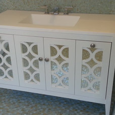Transitional Bathroom Vanities And Sink Consoles by Anna Marie Fanelli - Floor & Decor