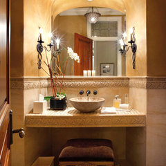 mediterranean bathroom by EPIC Ceramic & Stone