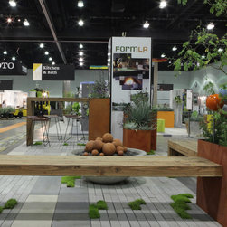 2014 Dwell on Design, FormLA Landscaping Booth - Orly Olivier for FormLA Landscaping