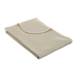 American Baby Company Organic Cotton Thermal Blanket, Natural - I love this warm and snugly receiving blanket. It's organic, affordable, neutral and modern.
