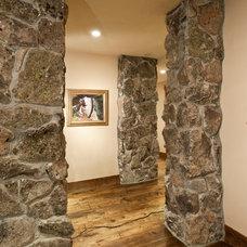 Rustic Hall by Djuna Design Studio