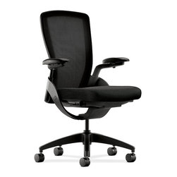 Hon - Ceres Task Chair - This office chair is better than having your own staff. It's built to support your back through a range of daily movements and, when you lean on it too hard, it won't gripe or ask for a raise. It's completely adjustable and glides easily on strong legs and casters.