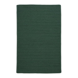 Colonial Mills - Colonial Mills Simply Home Solid H459 Myrtle Green Rug H459R024X036S 2x3 - Practical. Colorful. Versatile. Maintenance-free. Simply pick from 37 colors to find the perfect solid-color indoor/outdoor rug for your space.