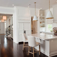 Lighting / White Kitchen | Visual Comfort Lighting available through Circa Light