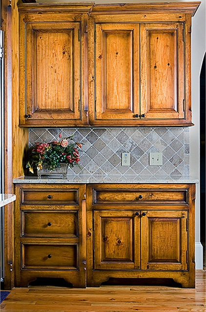 Eclectic Kitchen Cabinets by Risner Cabinetry
