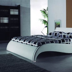 The Wave Bed Frame: Sale Price! - Eye catching, new-aged styling showcases this stunning Wave Bed Frame