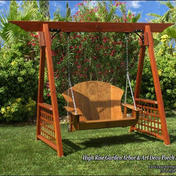 Patio Garden Arbors - My Patio Arbors are handcrafted with the same attention to detail found in fine woodworking, but most often missing in today's marketplace.