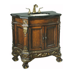 "36"" Ball & Claw Single Bath Vanity -"