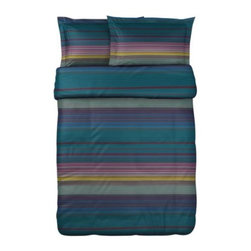 Charlotte Skak - ANDREA SATIN Duvet cover and pillowsham(s) - Duvet cover and pillowsham(s), purple, multicolor