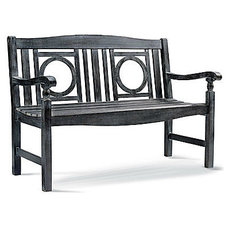 Traditional Outdoor Benches by Grandin Road