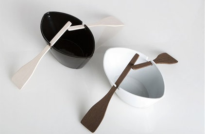 Contemporary Serving And Salad Bowls by Gessato