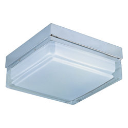 Flux 2-Light Square Flushmount Light
