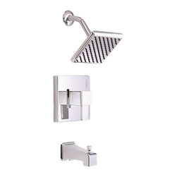 Danze - Danze D510033T One Handle Tub And Shower Trim Chrome - Danze D510033T Chrome Tub & Shower Trim is part of the Reef Bath collection.  D510033T Tub & Shower Trim with diverter on spout, requires D112000BT or D115000BT rough-in valve, sold separately.  D510033T Single lever handle meets all requirements of ADA.