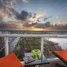 Modern Patio by Britto Charette Interiors - Miami Florida