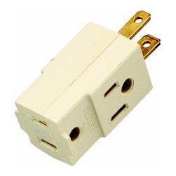 Satco - Satco Triple Cube Tap Outlet - Triple cube tap outlet