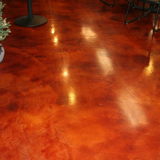 Modern Floors by Concrete Arts