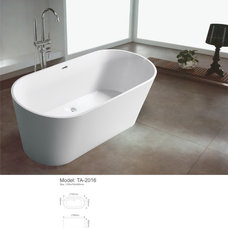 modern bathtubs by sarah