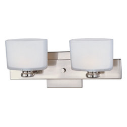 Maxim Lighting 9002SWSN Essence 2-Light Bath Vanity - Product Highlights