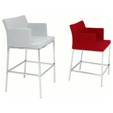 modern bar stools and counter stools by Viesso