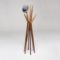 Jackson Coat/Hat Stand - A sculptural work of art, I would make sure that only a hat cool enough for Don Draper could hang with this rack.