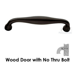 """Baldwin Hardware - 7 3/4"""" Centers Tahoe Surface Mounted Door Pull in Oil Rubbed -"""