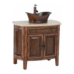 Ambella Home - New Ambella Home Sink Chest Rustico - Product Details