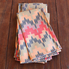 Contemporary Napkins by Wolfum