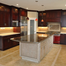 Rustic Kitchen Cabinetry by All Perfect Finish