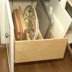 Pull Out Tray Bin -