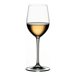 Riedel - Riedel Vinum Viognier/Chardonnay pay 6, get 8 - Indulge in the luxury of lead crystal. This simply elegant stemware, ideal for chardonnay, will enhance the look of your table ... and your pleasure in the wine.