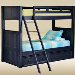 Bunkbed - Bead Board Blue collection