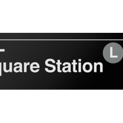 Underground Signs - 14 Street- Union Square, Vinyl Sign - 14 Street-Union Square station opened on October 27, 1904. The station has two abandoned local side platforms; the northbound one is visible through windows. From the north end of the downtown platform's mezzanine, the adjacent side platform can be seen through a hole in the plywood. Sign is made to order, lead time 1-3 weeks.