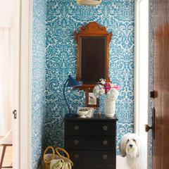 eclectic entry Neat & Beautiful Entryways Organization Inspiration | Apartment Therapy DC