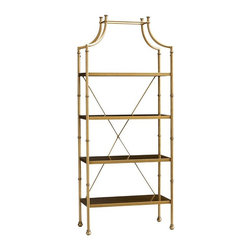 Maison Bookcase - OK, no one needs this expensive bookcase; I just love it and want it.