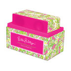 Lilly Pulitzer - Lilly Pulitzer Wireless Bluetooth Speaker, Elephant Ears - Now make all your friends flock to the dance floor with vivacious and portable speaker this stylish Lilly Pulitzer Bluetooth enabled speaker works wirelessly with any Bluetooth enabled device. Roam up to 30 feet and enjoy 5 hours of sound courtesy of the rechargeable lithium battery