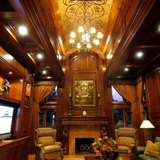 Traditional Family Room by Foran Interior Design