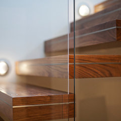 modern staircase by kbcdevelopments