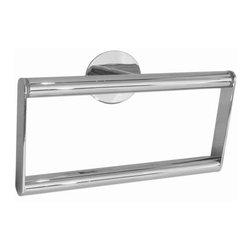 Smedbo - Smedbo Time Towel Ring, Polished Chrome - Smedbo Time Towel Ring, Polished Chrome