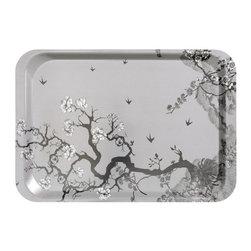 Tray, Gray - You clearly need a gray cherry blossom tray.