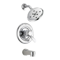 Delta Monitor(R) 17 Series Tub and Shower Trim - T17430-H2O - Timeless design for today's homes