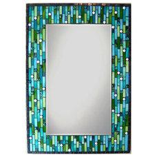 Modern Mirrors by Opus Mosaics