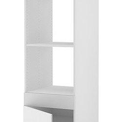 IKEA of Sweden - AKURUM High cabinet f built-in oven/micro - High cabinet f built-in oven/micro, white, Härlig white