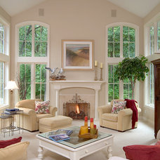 Traditional Living Room by People Places & Things Photographics