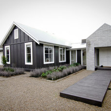 Farmhouse Exterior by Turner Road Architecture