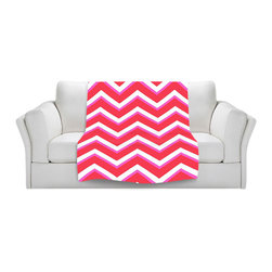 DiaNoche Designs - Throw Blanket Fleece - Layer Red Pink - Original Artwork printed to an ultra soft fleece Blanket for a unique look and feel of your living room couch or bedroom space.  DiaNoche Designs uses images from artists all over the world to create Illuminated art, Canvas Art, Sheets, Pillows, Duvets, Blankets and many other items that you can print to.  Every purchase supports an artist!