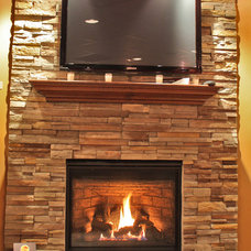 Indoor Fireplaces by NYC Fireplaces and Outdoor Kitchens