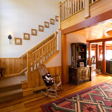 Traditional Entry by Interiors by Randi