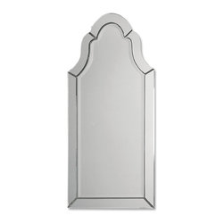 Uttermost - Uttermost 11912 B Hovan Frameless Arched Mirror - Uttermost 11912 B Hovan Frameless Arched Mirror